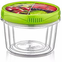 Набор пищевых судков Irak Plastik Style box 3 в 1, (0.3л, 0.5л, 0.8л)