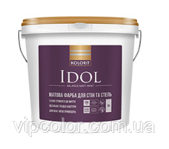 Kolorit Idol матовая акрилатная краска для интерьера С 9л