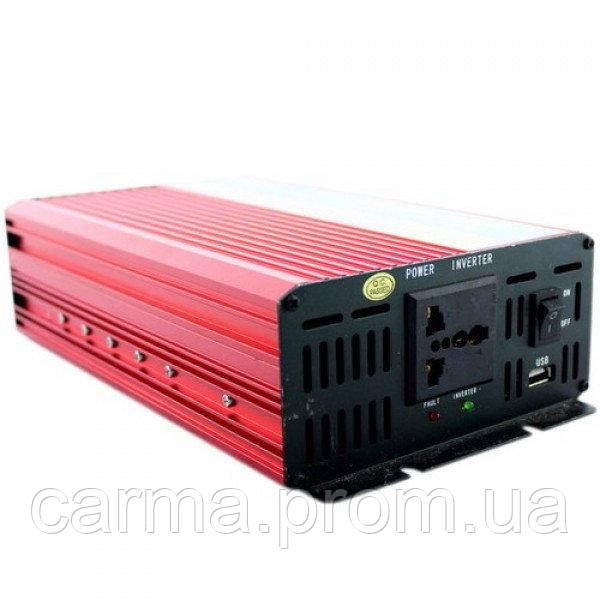 Профессиональный преобразователь инвертор UKC 1000W SSK AC/DC 12V