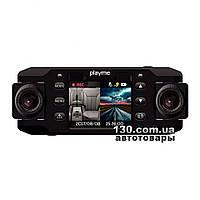 Автомобильный видеорегистратор Playme NIO c дисплеем и двумя камерами