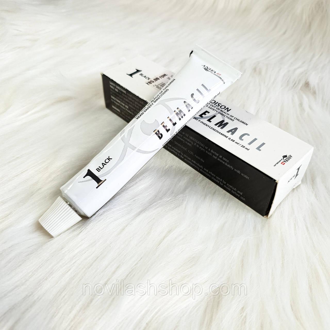 Краска для бровей и ресниц Belmacil 1 Black