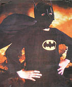 Костюм детский Бэтмен (эконом) L 150216-309