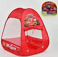 Палатка детская Тачки размер 74*74*94 см