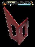 """Угольник  """"ЯПОНСКИЙ"""" алюминиевый YATO для углов 90° И 45° 150 мм, фото 3"""