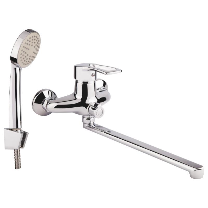 Смеситель для ванны однорычажный GF Italy (CRM)/S- 04-005N хром