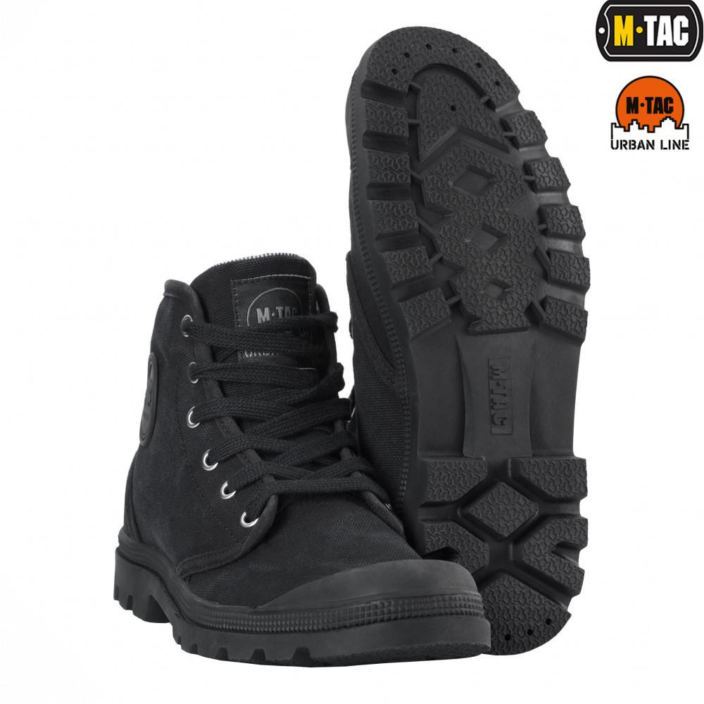 Тактичні кеди M-Tac Black Size 40