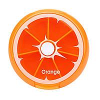 Таблетница BoxShop Citrus 7 отделений оранжевая (T-4441), фото 1