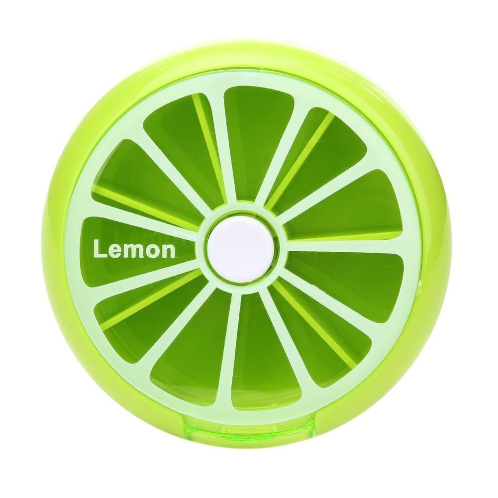 Таблетница BoxShop Citrus 7 отделений зеленая (T-4411)
