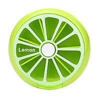 Таблетница BoxShop Citrus 7 отделений зеленая (T-4411), фото 1
