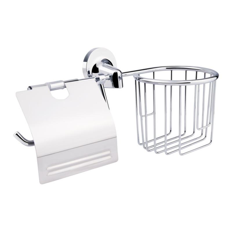 Держатель для туалетной бумаги и освежителя GF Italy (CRM)/S-2803-1