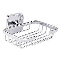 Настенная мыльница прямоугольная в ванную комнату GF Italy (CRM)/S- 2702-1