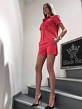 Летний костюм с шортами Black Rich Турция люкс