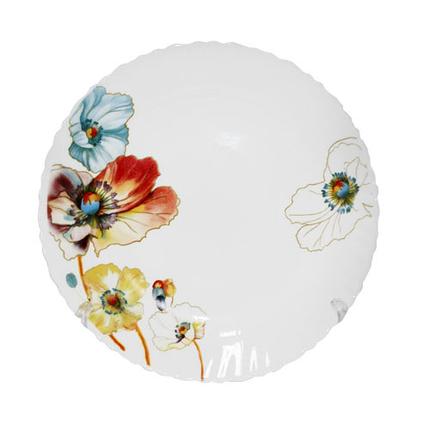 Тарелка S&T Радужный мак мелкая 20 см 30071-1068, фото 2
