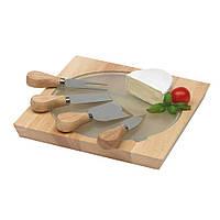 Набор ножей для сыра Orbit в подарочной упаковке, цвет Светло-коричневый / su 90301125
