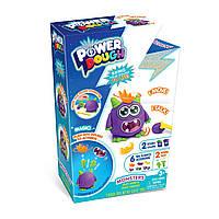 """Ігровий набір пластиліну Power Dough """"Монстер"""" з ефектами світла та звука Monsters Small Box (273002)"""