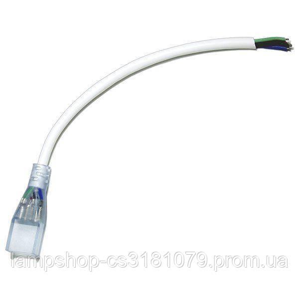 Коннектор для ленты NEON RGB 12В 4pin-провод
