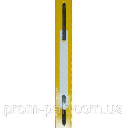 Скоросшиватель пластиковый Economix белый 31511-14, фото 2