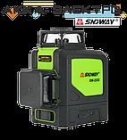 Лазерный уровень 12L (нивелир) SNDWAY SW-333G, фото 3