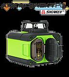 Лазерный уровень 12L (нивелир) SNDWAY SW-333G, фото 5
