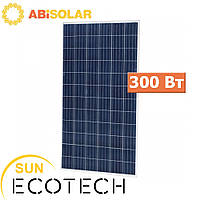 Сонячний модуль ABi-Solar CL-P72300, 300 Wp, Poly