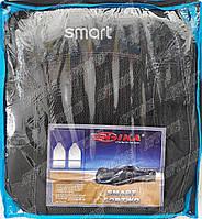 Авточехлы Smart Fortwo (тёмно-серые) Nika