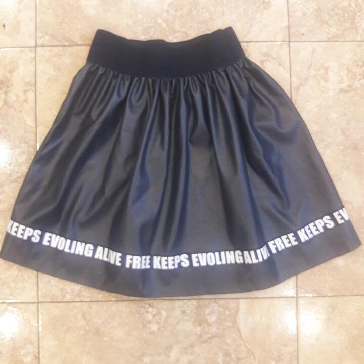 """Школьная юбка для девочки """"Буквы"""""""