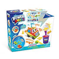"""Ігровий набір пластиліну Power Dough """"Транспортний засіб"""" з ефектами світла та звука Vehicles (273004)"""