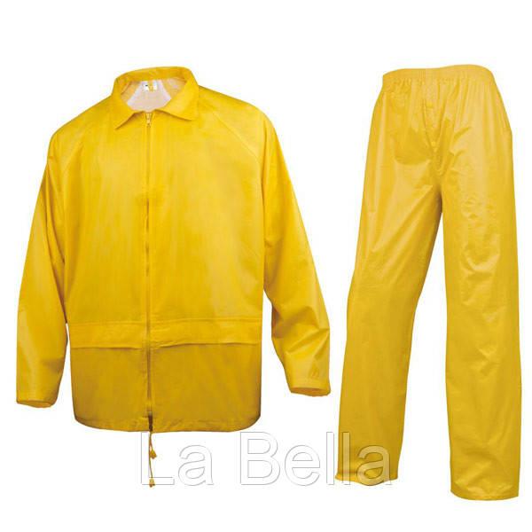 Костюм защитный от дождя   желтый