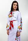 Вышитое платье с длинным рукавом Диана, фото 3
