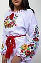 Вышитое платье с длинным рукавом Диана, фото 5