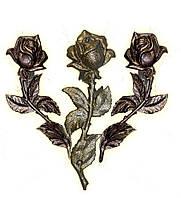 Розы, букеты, свечи из алюминия