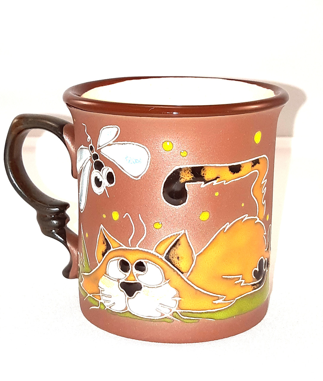 """Чашка керамічна """"Кіт втомився"""""""