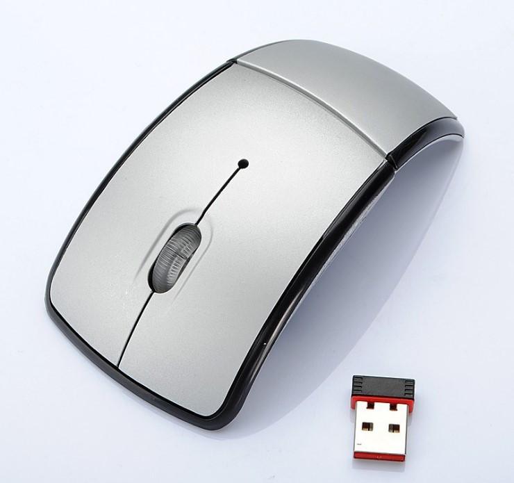 Беспроводная складная компьютерная мышь 2.4G ZD-1