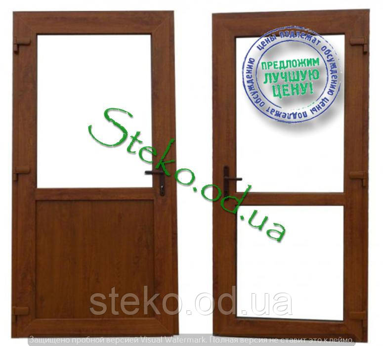Наружные пластиковые двери
