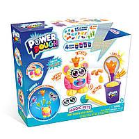 """Ігровий набір пластиліну Power Dough """"Магія домашніх тварин"""" з ефектами світла та звука Magic Pets (273003)"""