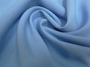 Габардин Голубой №18, ткань , фото 2