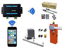 GEOS RC-1000 — GSM контроллер для управления воротами, шлагбаумом, электрозамком до 1000 пользователей