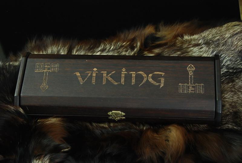 Подарочный футляр для ножа, из древесины вяза