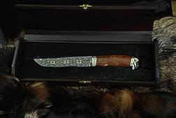 Подарочный футляр для ножа, из древесины вяза, фото 2
