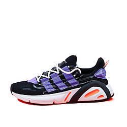 """Мужские кроссовки Adidas Lexicon """"Black/Violet"""" (люкс копия)"""