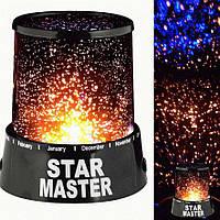 Проектор звездного неба Star master black R150642