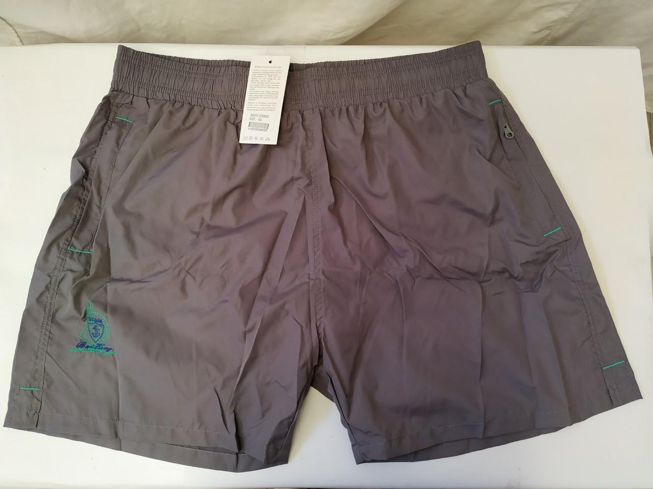 Шорты купальные мужские TERES 003 серый (есть 54 размеры)