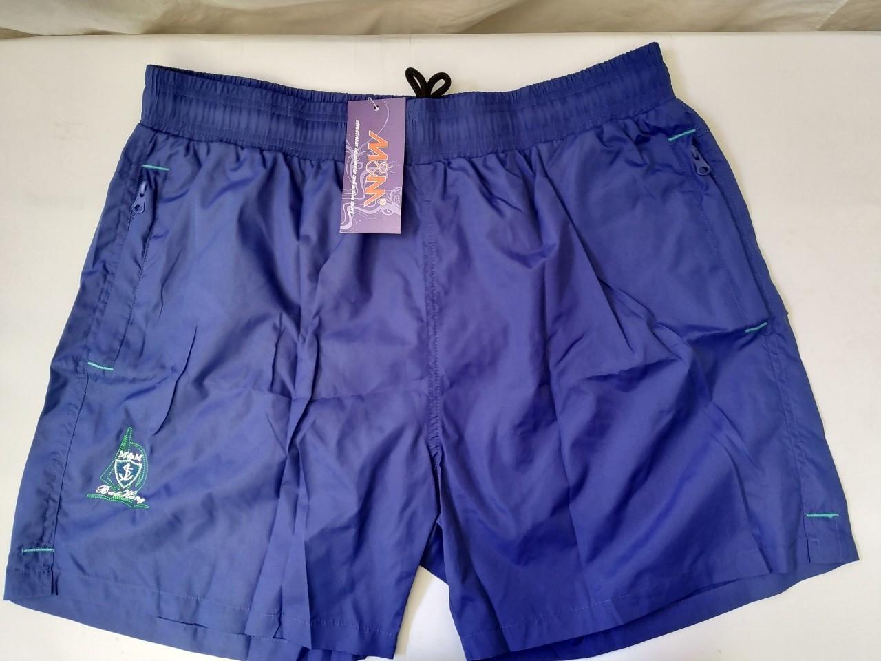 Шорты купальные мужские SAME GAME 003 синий(есть 54 56 58 размеры)