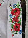 Вышиванка-реглан для девочки,с длинным рукавом, фото 4