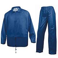 Костюм защитный от дождя   синий