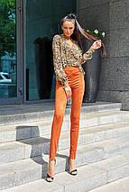Женская леопардовая блузка с запахом (Кейли jd), фото 3