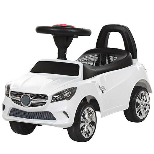 Толокар  Mercedes (Bambi 3147C-1) Белый, музыка, свет фар