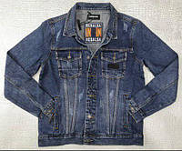 Джинсовая куртка Resalsa D7404 темно-синяя