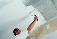 Шпаклевка потолка под покраску, высота до 3 м