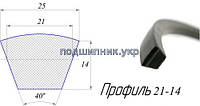 Ремень вентиляторный - 11-10-1500